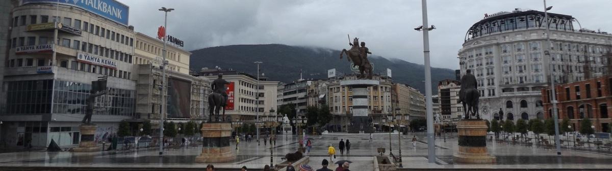 Macedonia: absurdalne Skopje