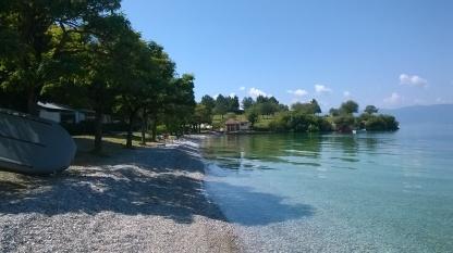 Plaża w Gradiste