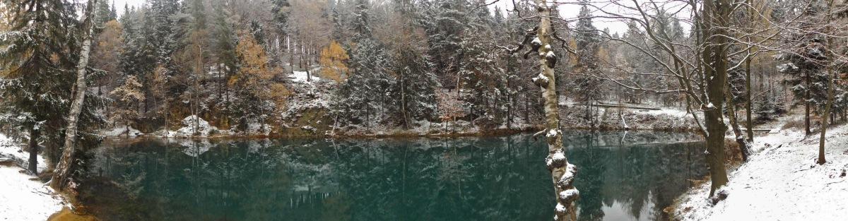 Góry i pagórki: Kolorowe Jeziorka w zimowym sosie
