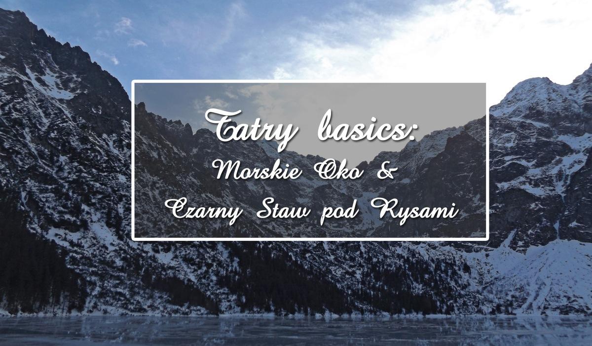 Góry i pagórki: Tatry basics
