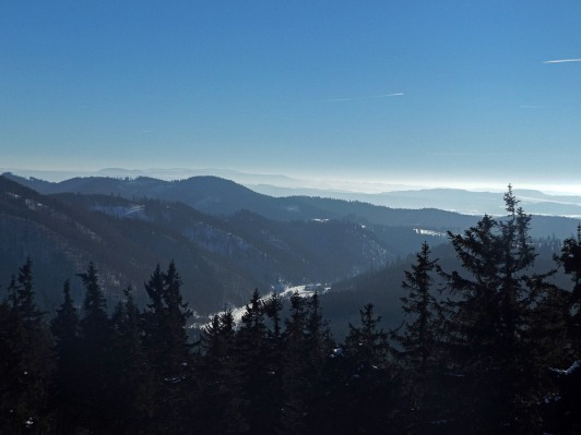 Góry Suche, Broumovsko i Śnieżnik hen w daleko
