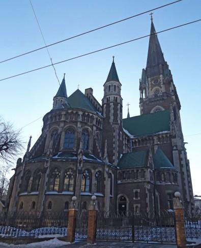 Katolicki kościół Św. Olgi i Elżbiety