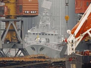 Hetman Sahaydachniy, obecny okręt flagowy