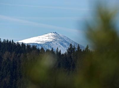 Bolczowskie widoki na Śnieżce