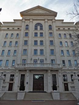 ... z drugiej budynek OBWE :)