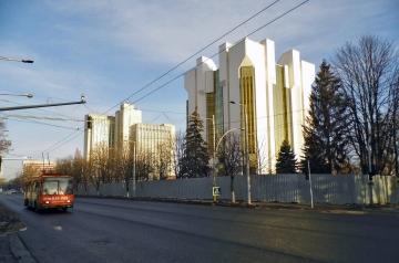 Pałac prezydencki i ministerstwo rolnictwa.