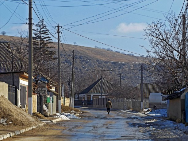 Mołdawia niby płaska, ale różnica wysokości jest widoczna gołym okiem.