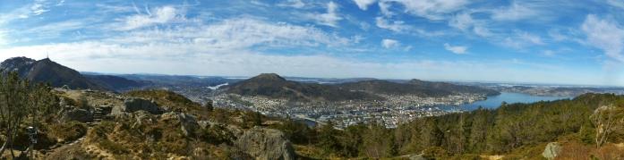 Najlepsza panorama Bergen. Period!