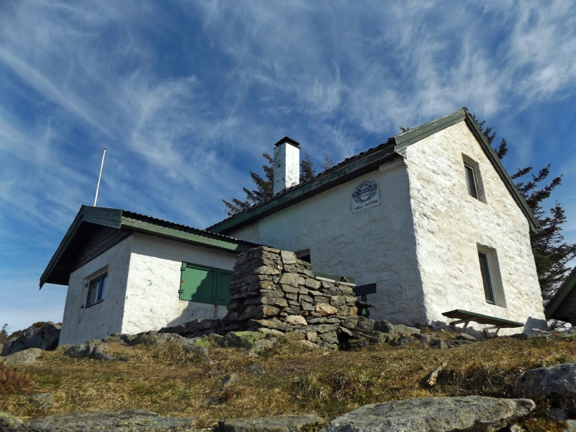 Fjellhytten czyli chatka na wzgórzu.