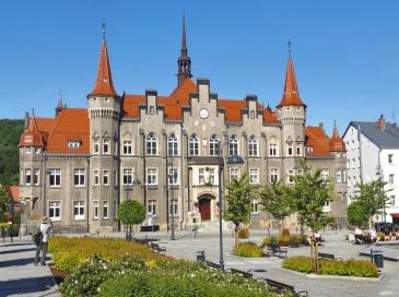 Wałbrzyski Ratusz.