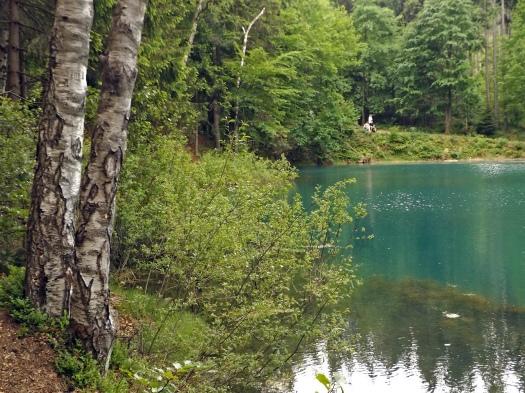 Purpurowe jeziorko.