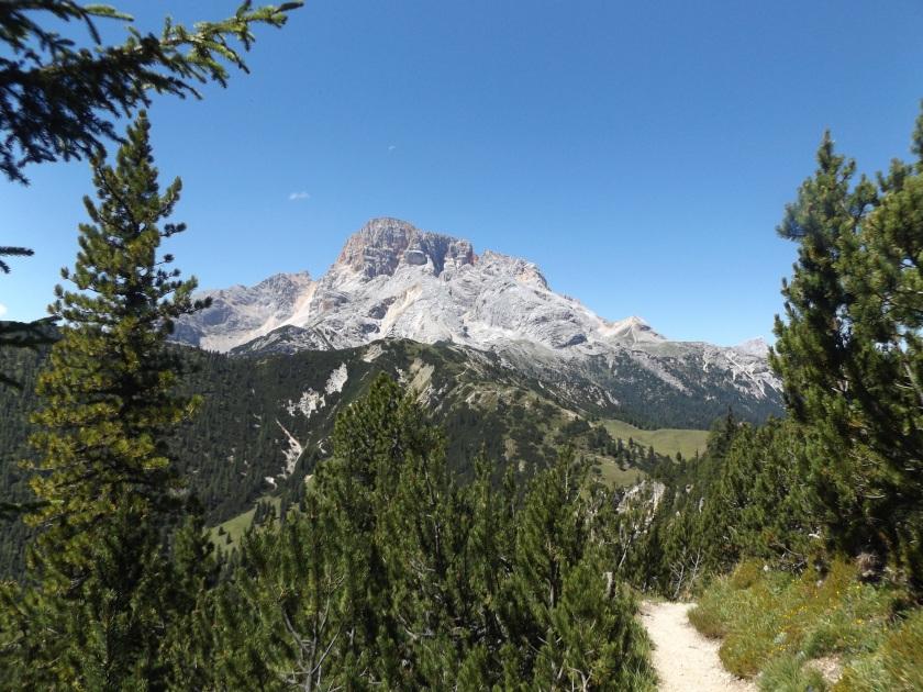 Croda Rossa, jeden z moich ulubionych dolomickich szczytów.