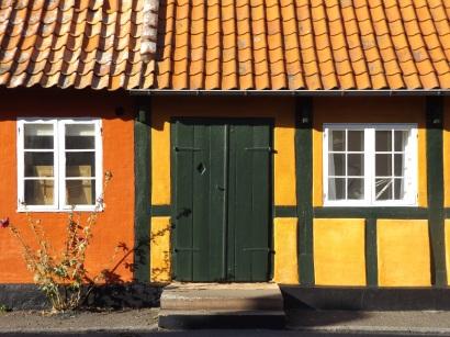 Kolorowe domki Svaneke.