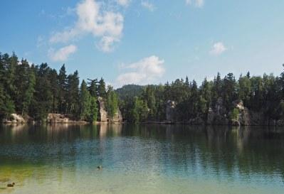 """Turkusowe"" jezioro"