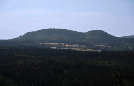 Widok z Bozanovskego Spicaka