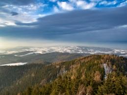 Rudawy Janowickie vs chmury.