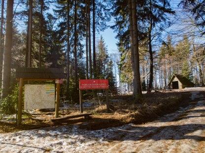 Przełęcz pod Granicznikiem.
