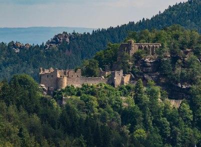 Ruiny w Oybin, Tolkien by przyklasnął.