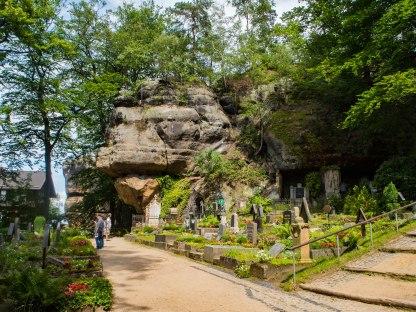Cmentarz na Oybin.