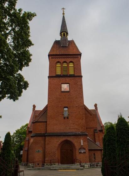 Cerkiew Przemienienia Pańskiego, dawniej luterański kościół Św. Wojciecha