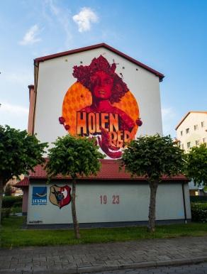 Ulica Holenderska doczekała się holenderskiego murala.