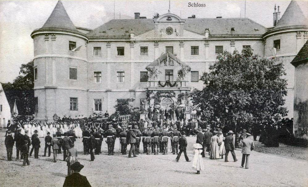 Zamek/Pałac w Czerninie