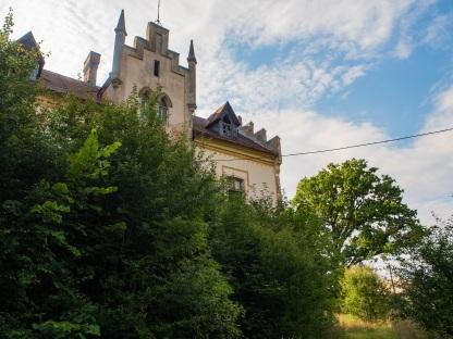 Pałac w Ligocie.