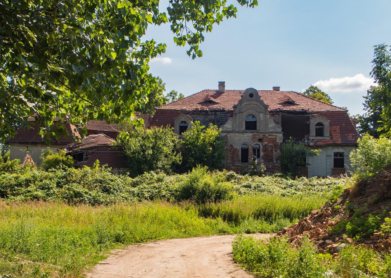 Pałac w Glince.