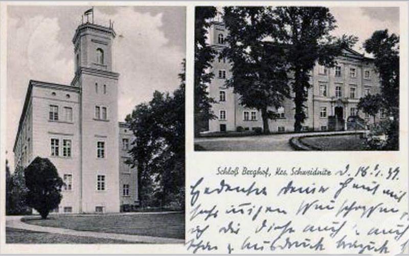 Pałac w Maniowie Małym, stan sprzed wojny.