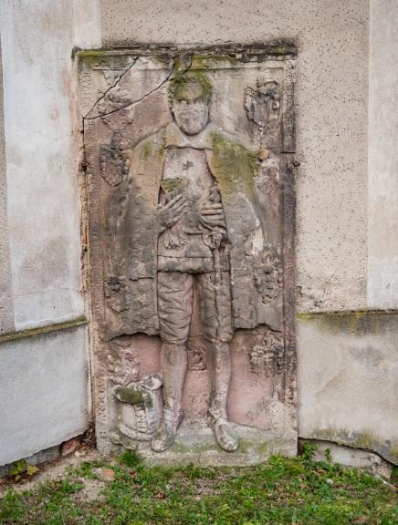 Epitafium któregoś z dziedziców rodziny Borschnitz