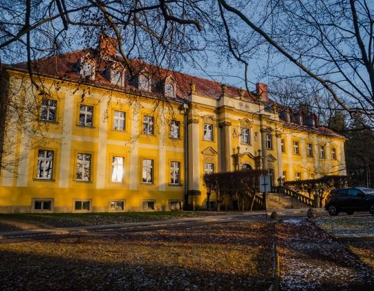 Zespół Pałacowy w Czarnym Borze, obecnie Szpital Lecznictwa Odwykowego
