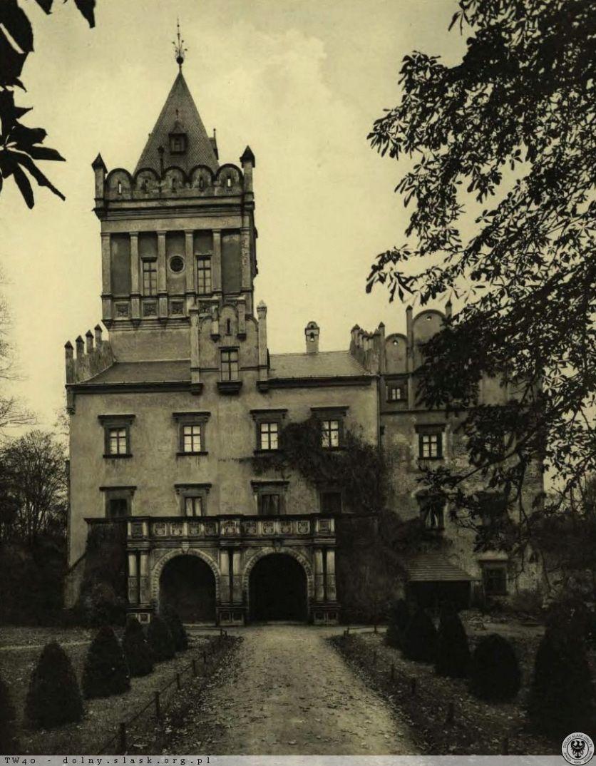 Dawneij zamek prezentował się tak. Foto: https://polska-org.pl/