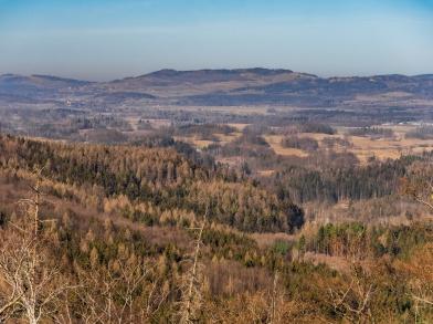 Góry Kaczawskie, Łysa Góra głownie.