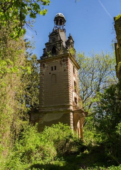 Wieża przypałacawa w Siedlimowicach.
