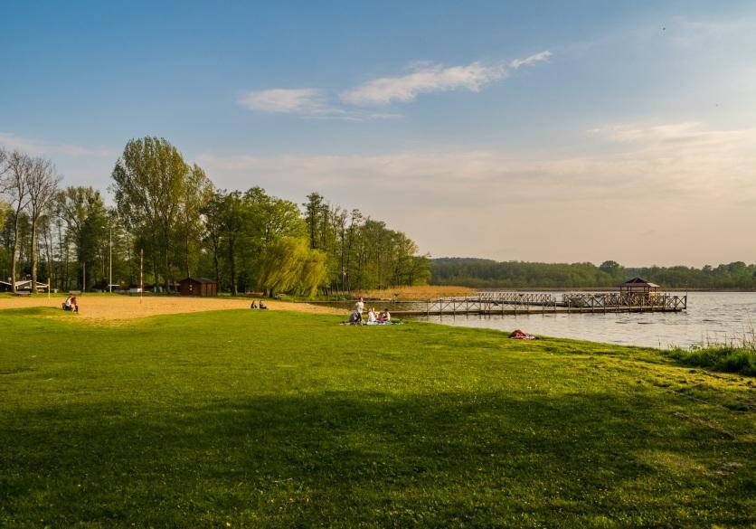 Plaża w Osiecznej